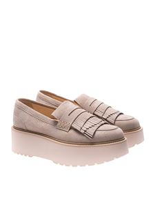 Hogan - Beige H355 loafers