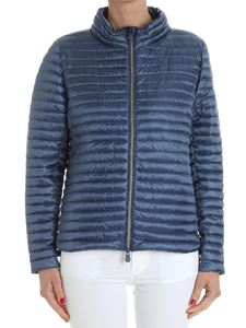 Save the duck - Blue padded jacket