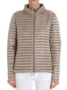 Save the duck - Taupe-colored padded jacket