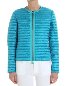 Save the duck - Turquoise padded jacket