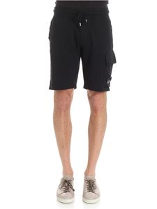 CP Company - Black bermuda with pockets