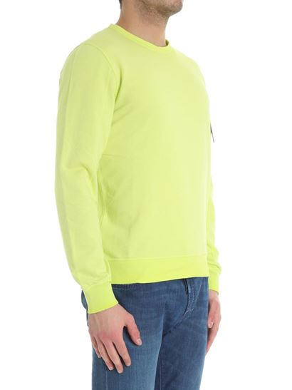Cheap 100% Guaranteed Free Shipping Inexpensive Lime colored sweatshirt with pocket C.P. Company Sale 2018 New s0ygbco5m