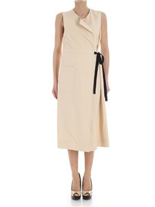 Jucca - Beige wrap dress