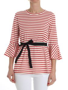 Jucca - Red striped Kiss top