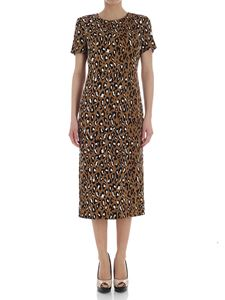 Diane von Fürstenberg - Animal pattern dress