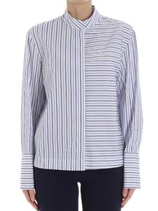 Diane von Fürstenberg - White striped shirt