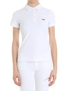 Emporio Armani - White polo with logo