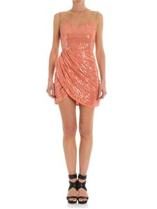 Elisabetta Franchi - Peach pink dress with sequins