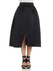 Elisabetta Franchi - Black wrap skirt