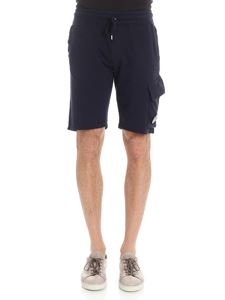 CP Company - Blue bermuda with pockets