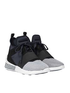 KENDALL + KYLIE - Black blue and white Braydin sneakers