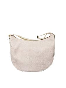 Borbonese - White medium Luna bag
