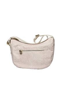 Borbonese - White small Luna bag