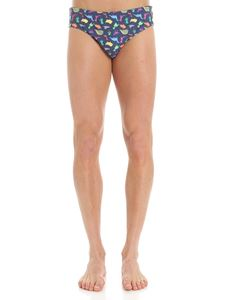 RRD Roberto Ricci Designs - Blue pixel printed swimsuit
