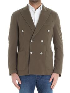 Circolo 1901 - Army green double-breasted jacket