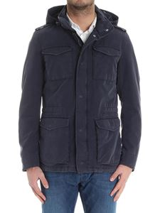 Herno - Field jacket with removable hood