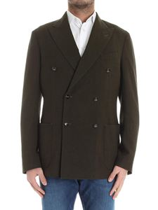 The Gigi - Green double-breasted jacket