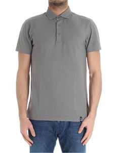 Drumohr - Grey cotton polo