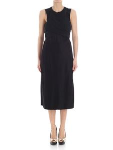 Alexander Wang - Black satin dress with cut-out