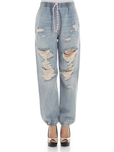 Alexander Wang - Light blue jeans with rips