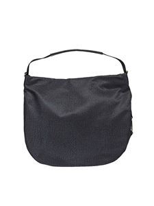 Borbonese - Black Medium Hobo shoulder bag