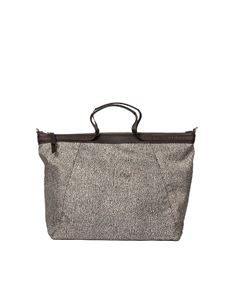 Borbonese - Brown large shoulder bag