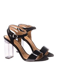 MARC ELLIS - Suede and patent leather sandals