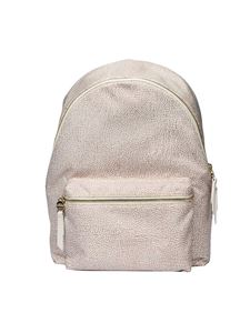 Borbonese - White Large Jet O.P. backpack