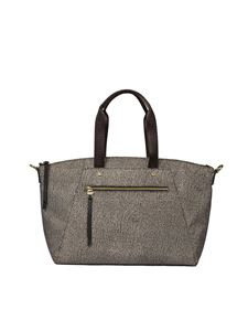 Borbonese - Brown Jet O.P. fabric bag