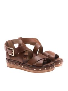 Michael Kors - Brown Darby sandals