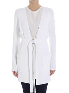 Michael Kors - White ribbed cardigan