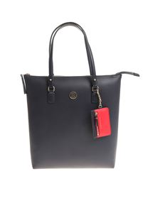 Tommy Hilfiger - Blue and red reversible Love Tommy bag