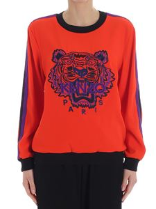 Kenzo - Red Soft Tiger sweater