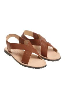 Virreina 1958 - Tan colored leather sandals