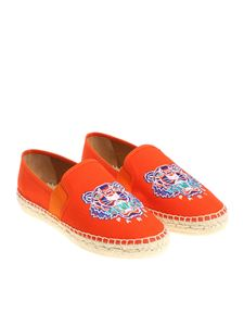 Kenzo - Orange espadrilles with logo