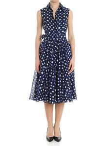 Samantha Sung - Blue Aster dress with diamond print