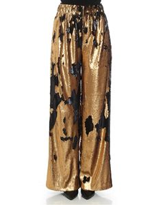Weili Zheng - Palazzo trousers with sequins