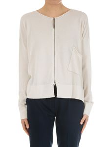 Fabiana Filippi - Cream-colored cotton cardigan