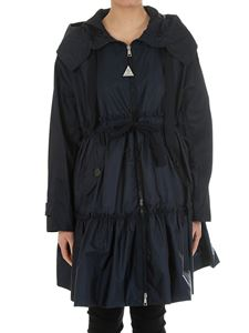 Moncler - Blue Turquoise overcoat