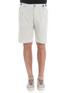 MYTHS - White striped bermuda