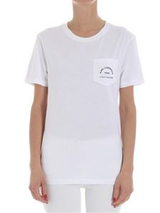 Karl Lagerfeld - White t-shirt with logo