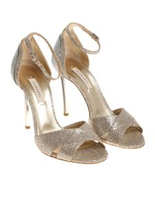 Casadei - Golden Fata sandals