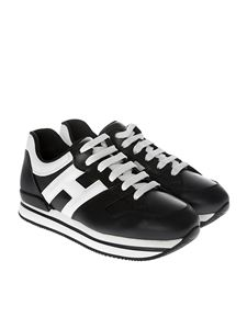 Hogan - Black and white H222 sneakers