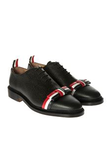 Thom Browne - Black Oxford leather shoes