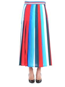 Stella Jean - Multicolor striped skirt