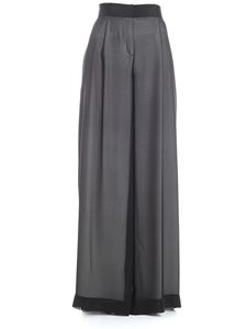 Karl Lagerfeld - Black palazzo trousers