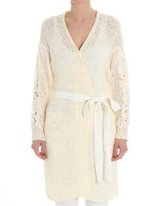 See by Chloé - Cream-color openwork cardigan