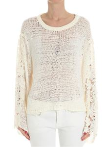 See by Chloé - Cream color openwork top