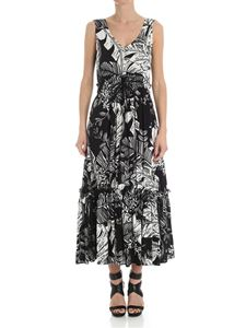 See by Chloé - Black and white floral dress