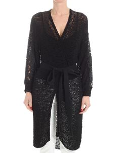See by Chloé - Black openwork cardigan